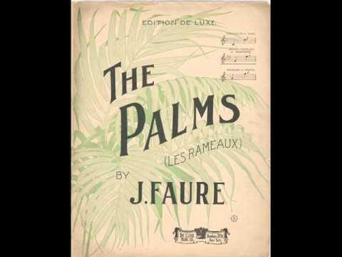 Harry Macdonough - The Palms 1906 Version Easter Song Rameaux
