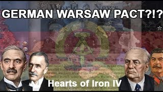 WHAT?!? Socialist Germany CREATES A New WARSAW PACT?!? (HOI4 SPEEDRUN)