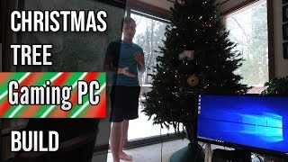 My Christmas Tree Gaming PC | A Working Gaming Computer & Christmas Tree Mod | 3K Holiday Special