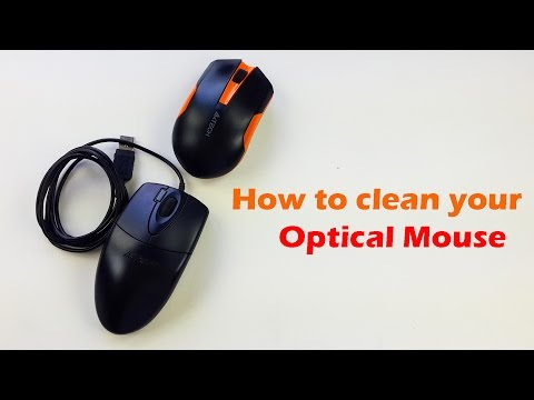 How to clean your optical mouse Like a Pro - How to Clean Mouse - DIY Gadget Cleaning