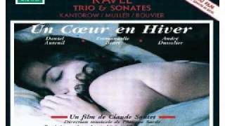 Philippe Sarde (Ravel) - Sonata for Violin and Piano - Premier Mouvement (Un Coeur En Hiver)