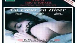 Philippe Sarde (Ravel) - Sonata for Violin and Piano - Premier Mouvement (Un Coeur En Hiver)