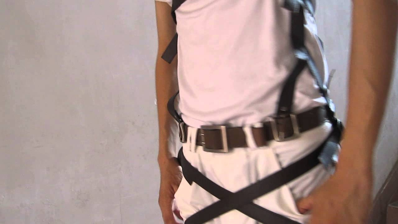 attack on titan harness review