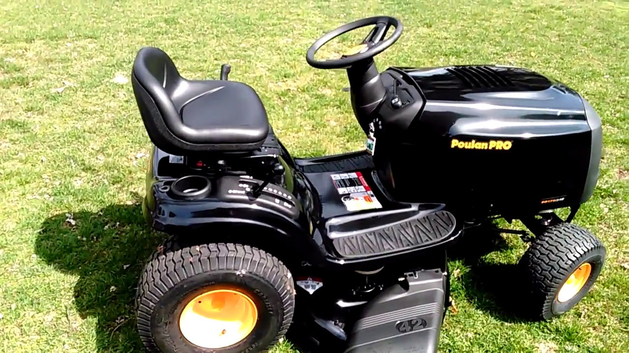 Poulan Pro Tractor Pp175g42 Review And Test Drive