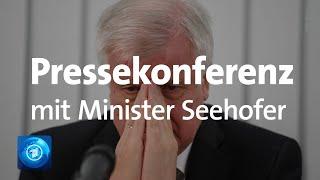 Bundesinnenminister Seehofer Gibt Pressekonferenz Nach Anschlag Mit Zwei Toten In Halle