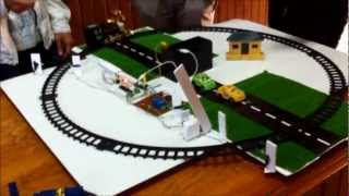 Automatic Railway Gate Control  -mini project