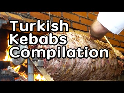 istanbul street food | turkish kebabs compilation | turkey street food