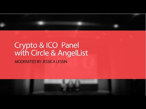 Crypto and ICO Panel with Circle and AngelList