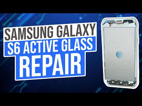 Samsung Galaxy S6 Active Glass Repair Only