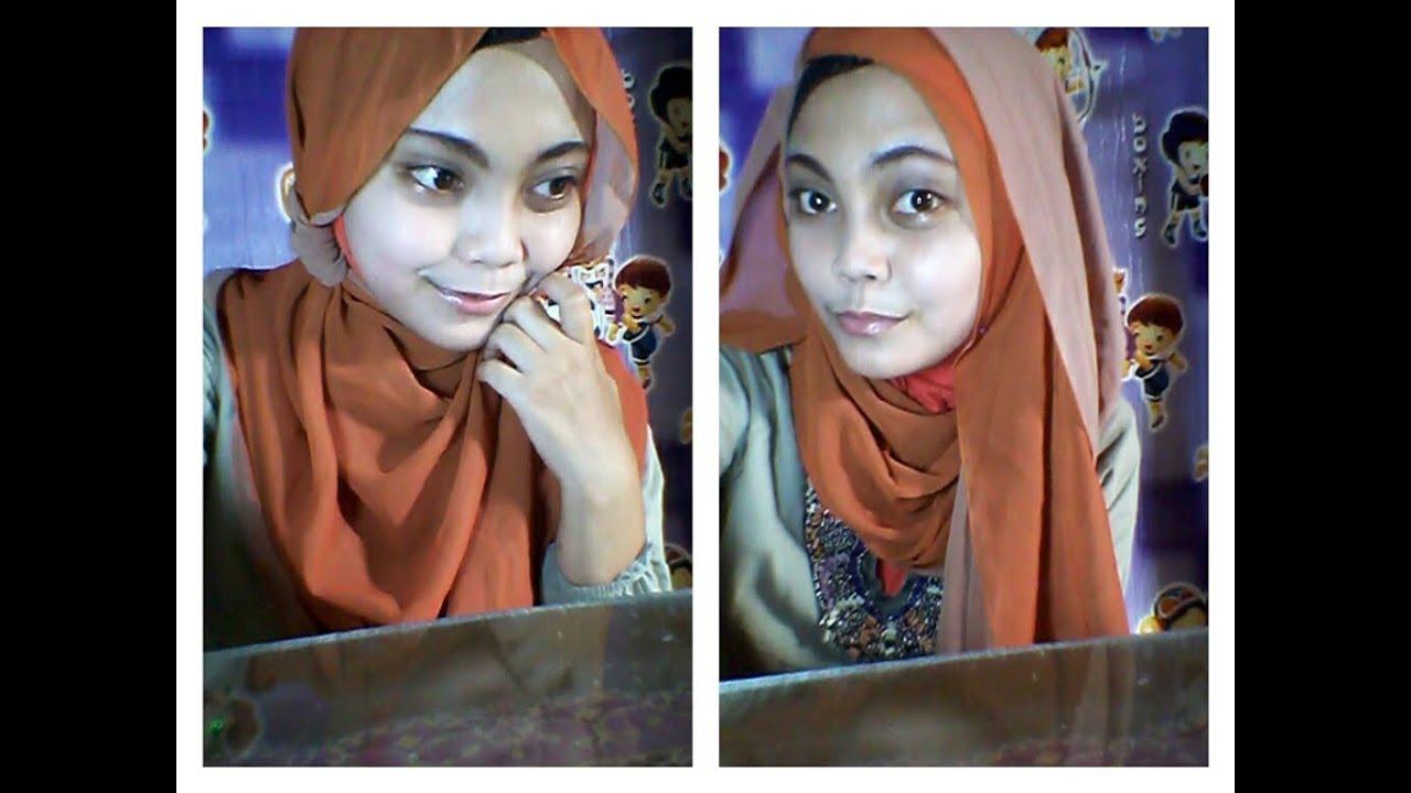 Video Cara Memakai Jilbab Pashmina 2 Warna Edisi Lebaran L Video