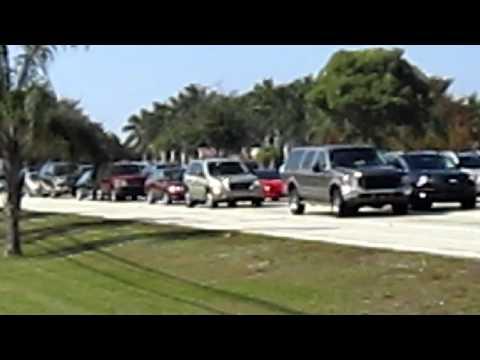 Cruzamento em Coral Springs, Flórida