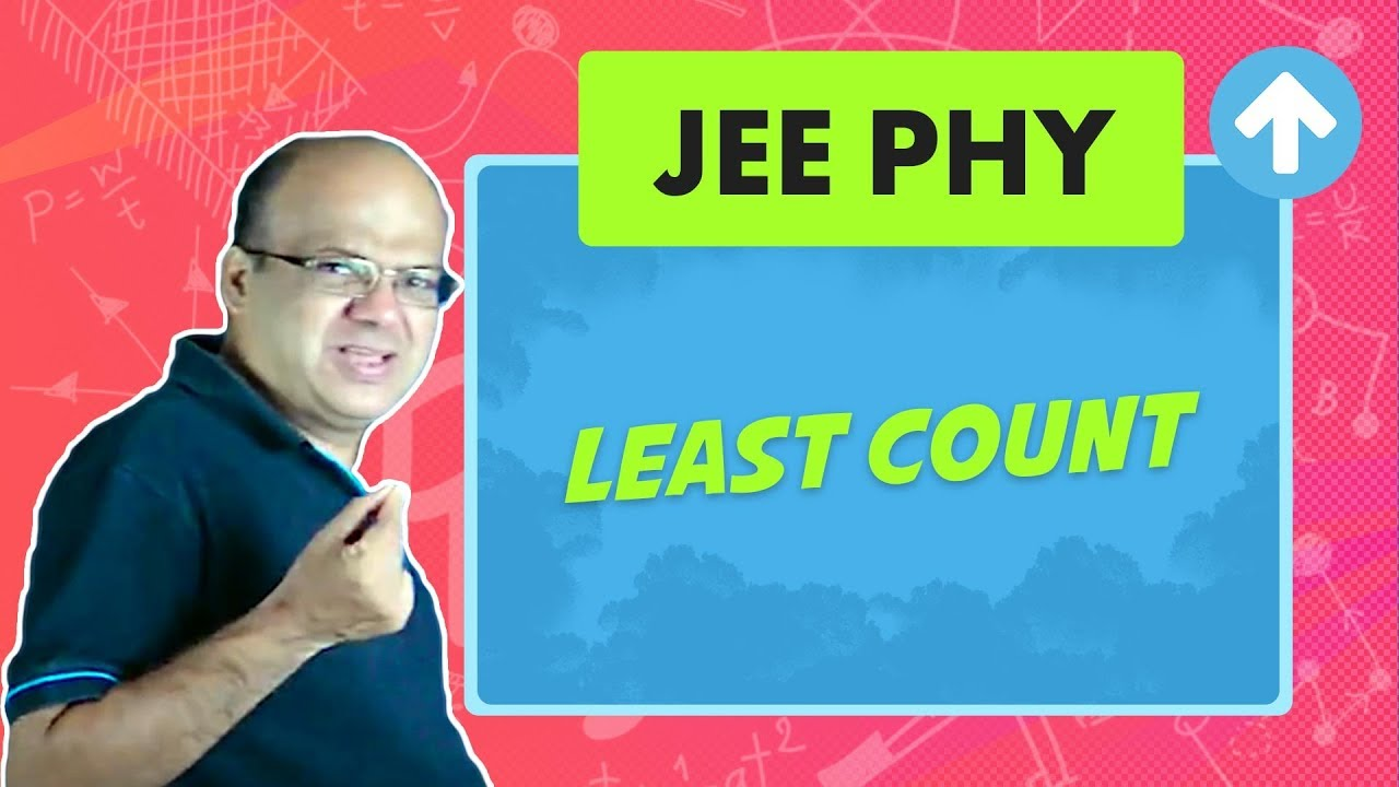 Least Count   JEE Physics   Measurement and Errors   English