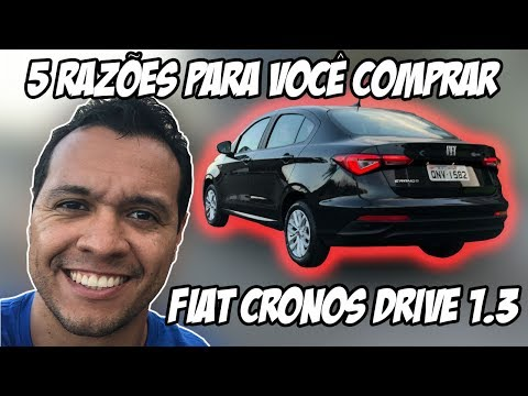 Fiat Cronos Drive 1.3: 5 motivos para você comprar este sedã