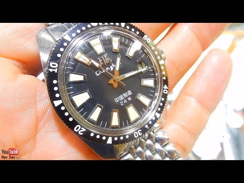 Buying a Vintage Shanghai Military Diver Reissue Watch 114