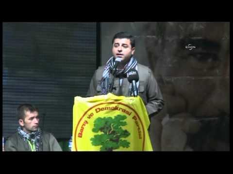 Demirtaş: Müzakere sürecinin yeni başlıklarından biri Öcalan'a özgürlük olacaktır
