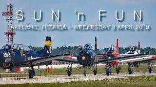 SUN 'n FUN 2019 Wednesday air show scenes