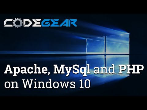 How to install Apache, MySql and PHP on Windows 10