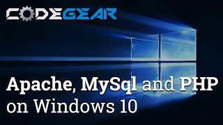 How to install Apache, MySql and PHP on Windows 10(, 2016-01-03T20:47:04.000Z)