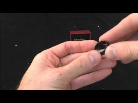 Black Tungsten Wedding Ring 8mm Brushed Matte Review