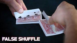 Magic's Best False Shuffle | The Zarrow Shuffle