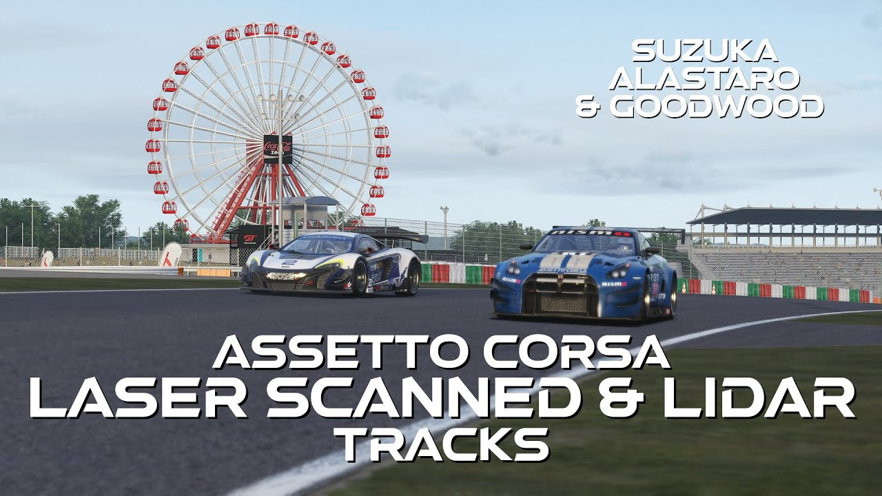 A Casual Sim Racer looks at laser-scanned Assetto Corsa mods