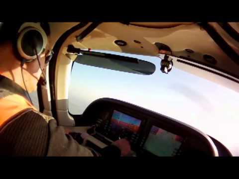 Cranfield ILS Flight