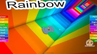 Baixar Jumping Into Rainbows ! Random Roblox Game Play with Cookie Swirl C