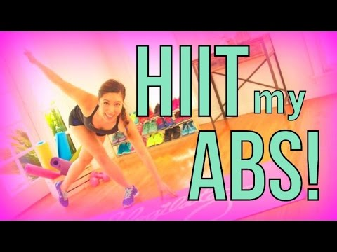HIIT My Abs HARD!!! [Fat burning Ab Workout]