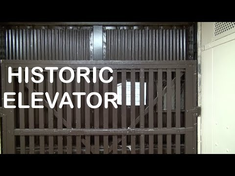 Let's take a ride on a historic Shepard Elevator in Kingsport TN