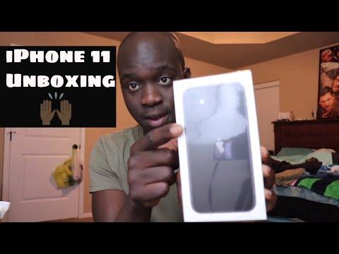 IPhone 11 Black | UNBOXING & Setup