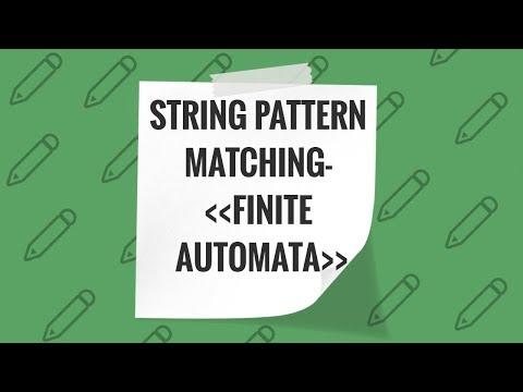 String Pattern Matching