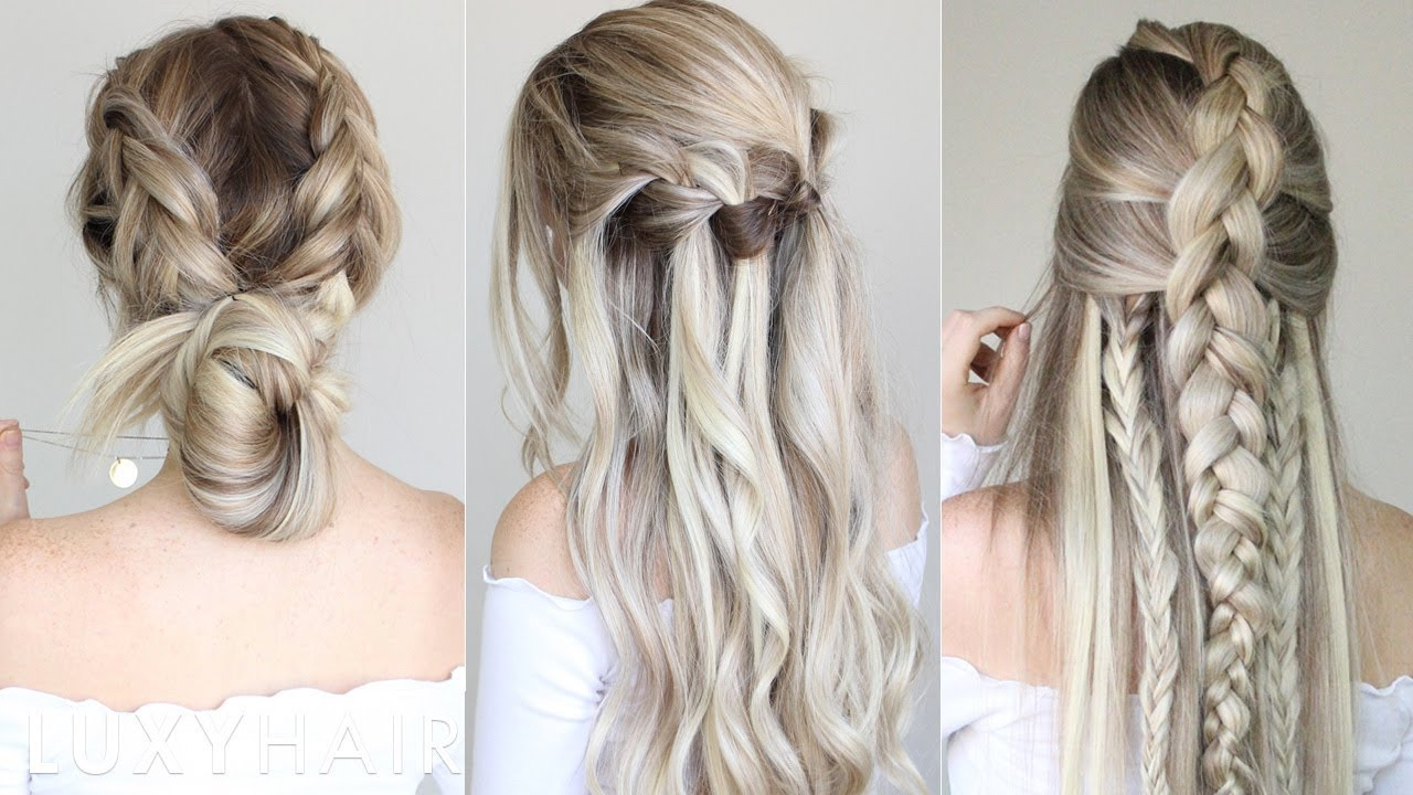 how to: pinterest hair | recreating pinterest hairstyles - youtube