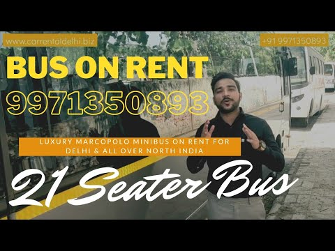 Luxury Mini bus marcopolo coach 21 seater on rent(9971350893) - delhi, gurgaon, noida & all india