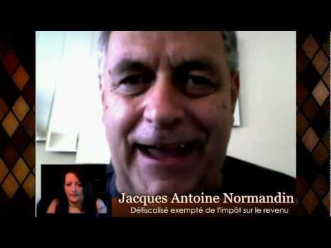 Une entrevue avec Jacques Antoine Normandin