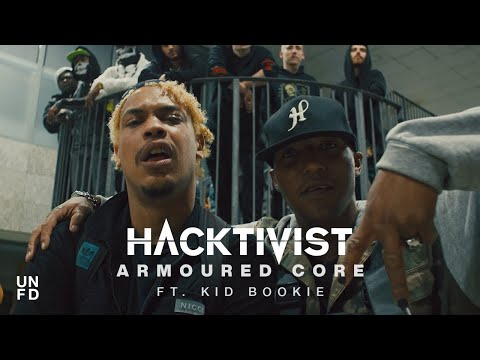 Смотреть клип Hacktivist Ft. Kid Bookie - Armoured Core