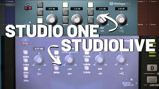 Audio Device Control with #StudioLive and #StudioOne