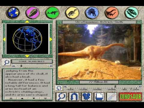 """3D Dinosaur Adventure """"Struthiomimus: Ostrich Sloth"""" Page"""