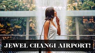 Jewel Changi Airport Tour | Laureen Uy