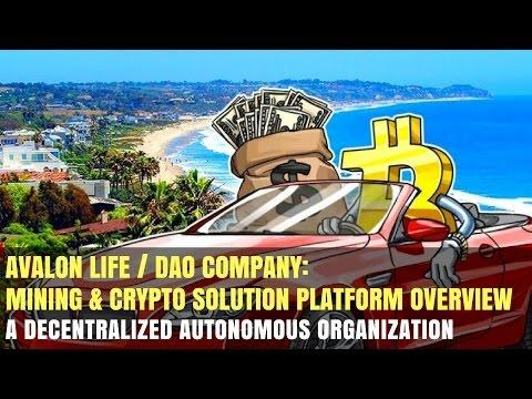 Avalon Life DAO - Crypto Mining Platform Overview [NEW]