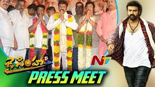 Jai Simha Movie Sucsess Meet || Balakrishna || KS RaviKumar || Nayanthara || NTV