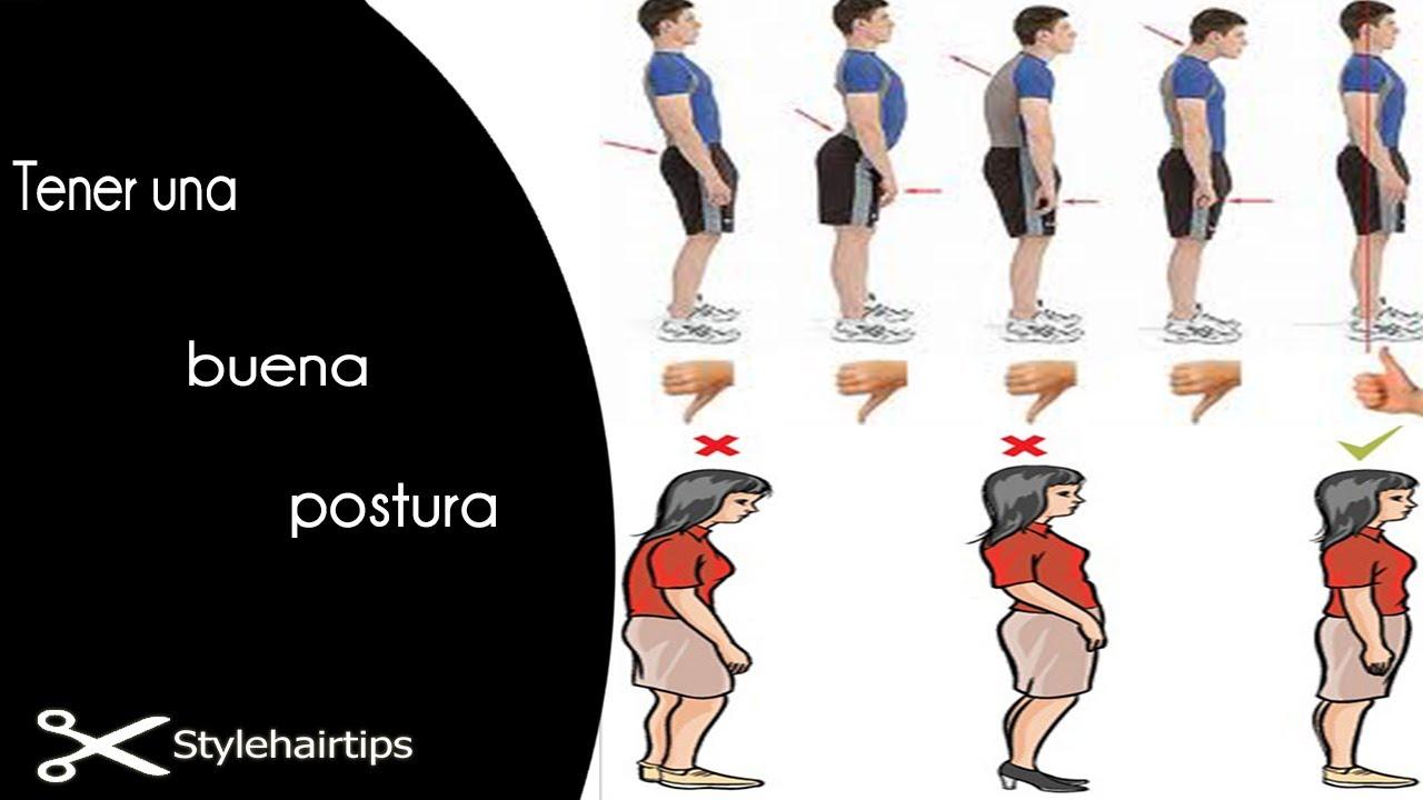 La importancia de tener una buena postura - YouTube d6caf4b16d9f