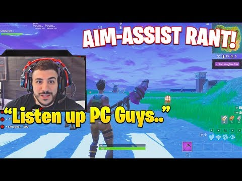 NICKMERCS GOES OFF ON STREAMERS WHO SAY AIM ASSIST IS OP