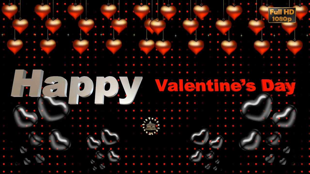 Happy Valentines Day 2020 Wishes Video Free Animated