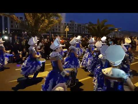 Carnival Encantado Arrecife Lanzarote Canary Islands 2018 *CRAZY PARTY* Carnaval GRAN DESFILE