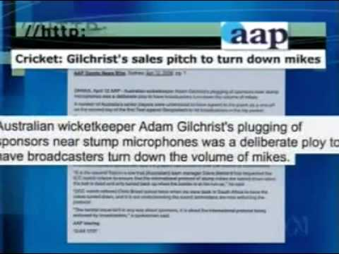 "Mediawatch 17 April 2006 - ""Gilly Speaks Up"""