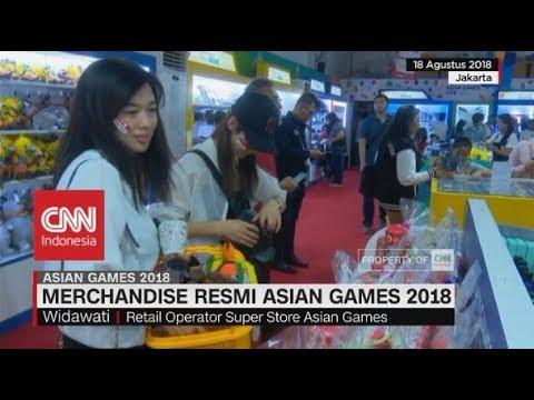 Berburu Merchandise Resmi Asian Games 2018