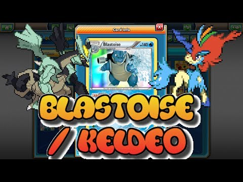 LEGACY Blastoise / Keldeo EX Deck ft. Kyurem Black EX: Pokemon TCGO (PTCGO)