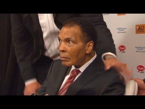 Muhammad Ali Makes Rare Public Appearance