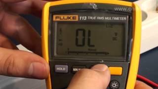 Fluke 113 - мультиметр цифровой(Подписывайтесь на нашу группу Вконтакте — http://vk.com/chipidip, и Facebook — https://www.facebook.com/chipidip * Мультиметр Fluke 113..., 2012-09-03T23:15:54.000Z)