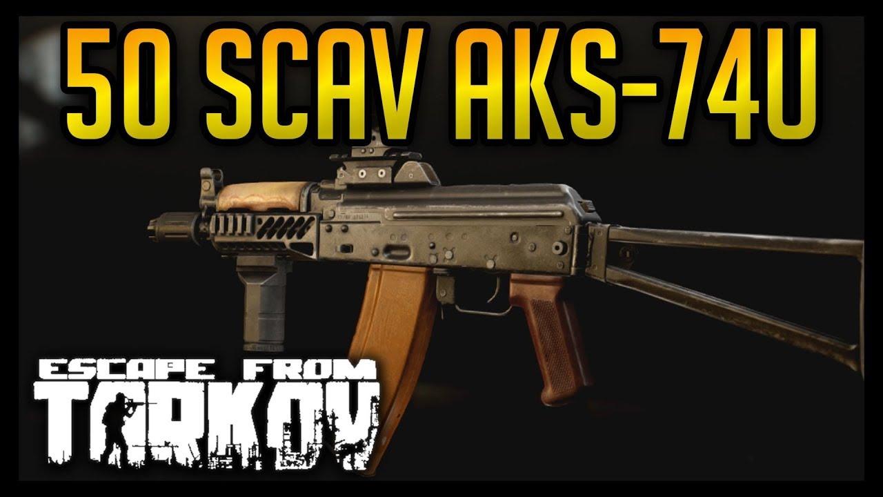 AKS-74U Punisher - 50 Scavs & PMC Fights - Escape From Tarkov